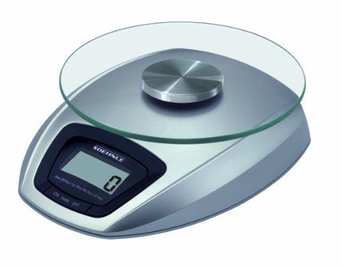 Soehnle 2046523 Siena Balance de Cuisine Electronique Plastique 19,5 x 15,5 x 5,5 cm
