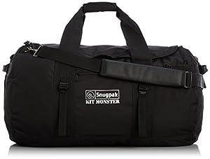 Snugpak Kit Monster Black 120 L Waterproof Carryall Compression Straps Heavy Duty Base