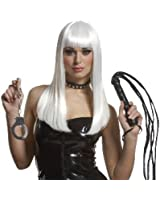 Mistress with Bangs Wig in Platinum