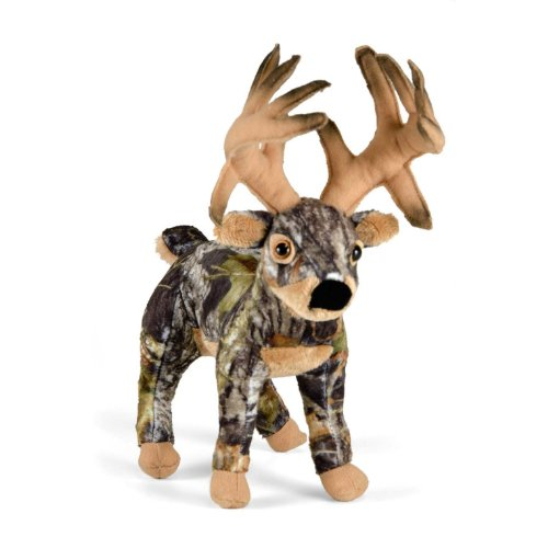 Wildlife Artists Mossy Oak Camo Wild Deer Plush One Size - 1