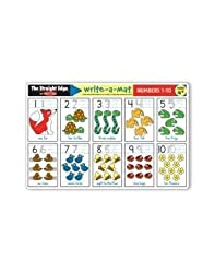 Melissa &amp; Doug Numbers 1-10 Write-A-Mat