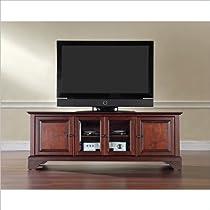 Big Sale Crosley Furniture LaFayette 60-Inch Low ProfileTV Stand, Vintage Mahogany