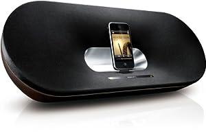 PHILIPS DS9000/12 Primo Docking Speaker for iPad/iPhone/iPod - wood finish