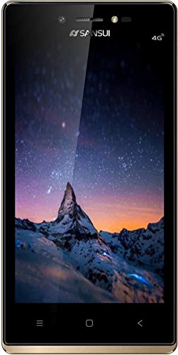 "SANSUI S51(DUAL SIM 4G VoLTE, 1GB RAM , 8GB INTERNAL STORAGE, 4.5"" DISPLAY WITH ATTRACTIVE GOLDEN BORDER)"