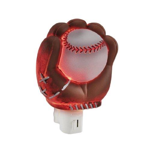 Children`S Baseball Glove And Ball Decoration Night Light Nite Lite Nightlight front-870562