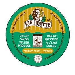 VAN HOUTTE SWISS WATER DECAF COFFEE - 96 K CUPS