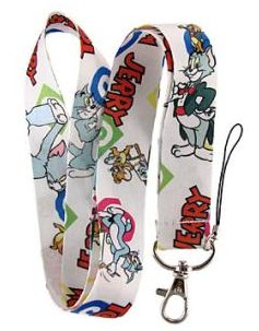 Tom and Jerry Keychain Lanyard