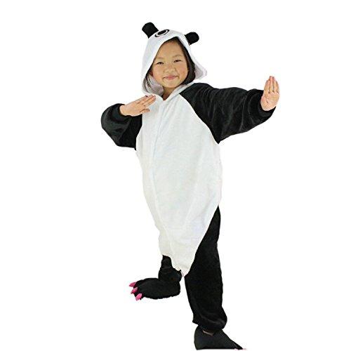 XMiniLife Panda Kids Cosplay Costume Onesie/105#Height115-125cm