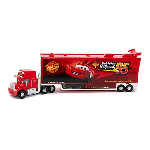 Amazon.com: Disney Pixar Cars Talking Mack and Diecast Set
