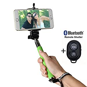 selfie stick bluetooth remote control by selfie stixx for use with iphone and. Black Bedroom Furniture Sets. Home Design Ideas