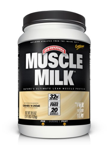 CytoSport Muscle Milk 1120 g Cookies and Cream Whey Protein Shake Powder