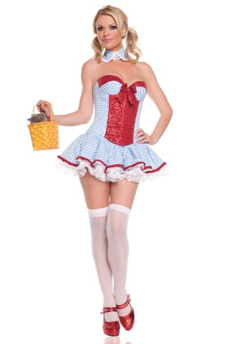 Sequin Dorothy Adult Costume Medium