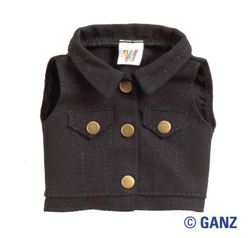 Webkinz Clothes - Black Vest