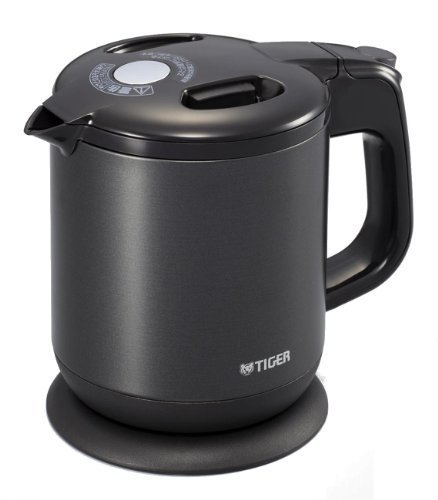 Tiger Frame-Less Child Electric Kettle Steam (0.6L) Pch-A060-K Black By Tiger