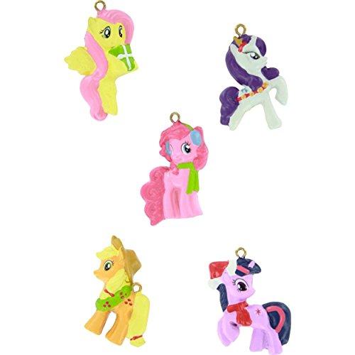 My Little Pony Kurt Adler Mini Ornament Set Gift Boxed