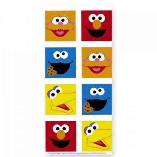 Sesame Street Smiles Plastic Tablecover - 1