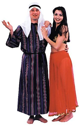 Arab Sheik Costume (Men's Adult Regular Size)