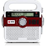 Eton/American Red Cross FR370 Portable Emergency Preparedness Radio with SAME Technology and NOAA Weather Alerts (ARCFR370WXR)