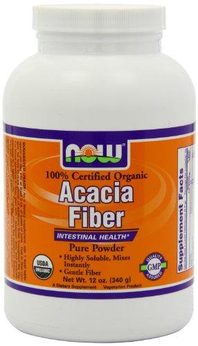 Now Foods fibre poudre, Acacia bio, 12 onces