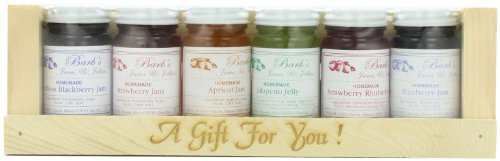 Amish Buggy Gift Pack, Jam's and Jellies, 6-3ounce