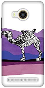 The Racoon Lean Camel Stories hard plastic printed back case / cover for Vivo X Shot