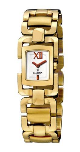 Festina F16310_1 - Reloj para mujeres color dorado