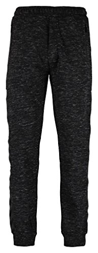 Hummel-Pantaloni da uomo Classic Bee Jess, Uomo, Pants CLASSIC BEE JESS, Nero melange, XXL
