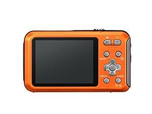 Panasonic DMC-FT20EF-D Lumix FT20 Appareil photo compact numérique 16 Mpix Zoom optique 5,1x Etanche 5m Orange
