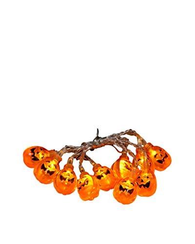 Fantastic Craft 5-ft. LED Jack-O-Lantern Garland, Orange