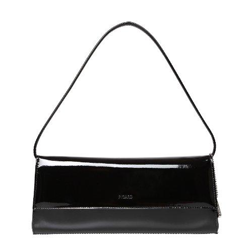 Picard-Auguri-4022-schwarz-lack-Leder-Abendtasche-Clutch-Schultertasche-Handgelenktasche-Ledertasche
