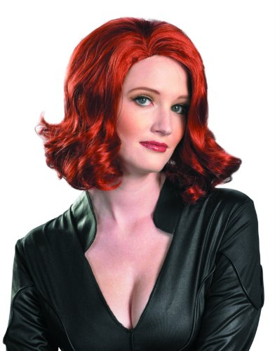 [Marvel's Avengers Movie Black Widow Wig] (Black Widow Marvel Costumes)