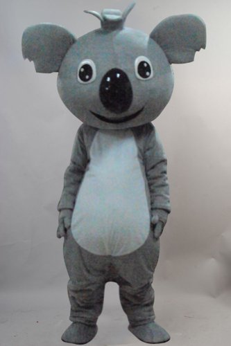 Warmcos Koala Mascot Costume Cartoon Character Cosplay Fancy Dress Outfit