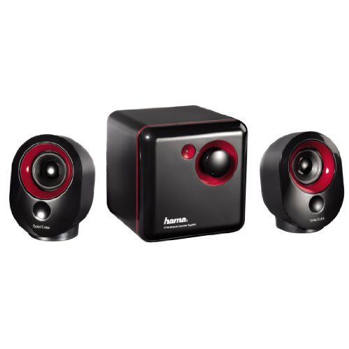 Hama Solid Cube 2.1-Subwoofer-System