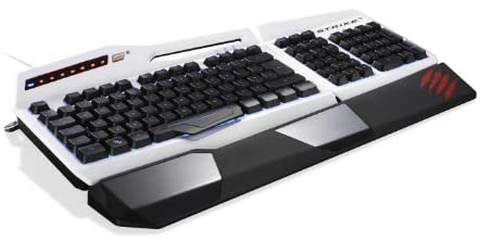 Mad Catzゲーミングキーボード(ホワイト)S.T.R.I.K.E. 3 Gaming Keyboard White MC-STRIKE3W