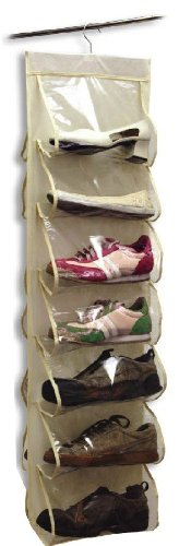 Hanging Shoe Organizer 14 Pocket – Closet Storage And Organization Products