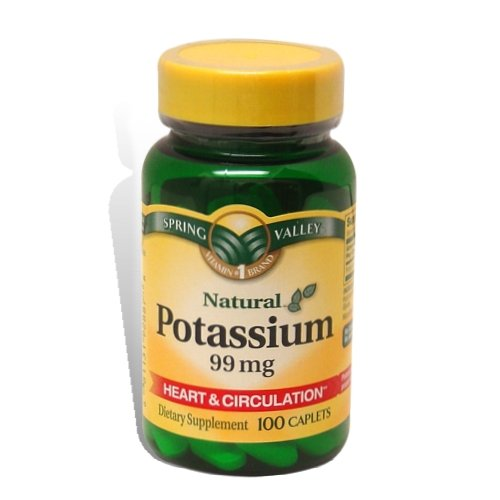 Spring Valley Natural Potassium Supplement