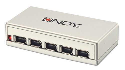 LINDY 6 Port FireWire Repeater Hub