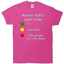 Modern Traffic Light Signals Funny T-Shirt