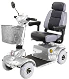 Mid-Range Four Wheel Scooter, Silver with White Glove Service