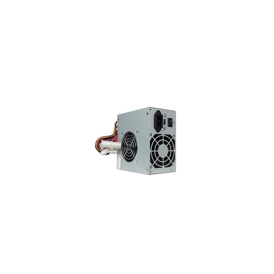 Lead Power 600W 20+4 pin Dual Fan ATX Power Supply with