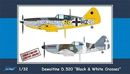 """1/32 ドボワティーヌD.520""""ブラック&ホワイトクロス"""""""