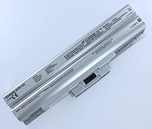 6-cell Sony Battery VGP-BPS21A 5200mAh for vaio vgn-fw51mf