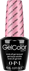 OPI Gel Nail Color I Think in Pink .5 Ounce