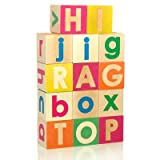 Uppercase and Lowercase Alphabet Blocks Set