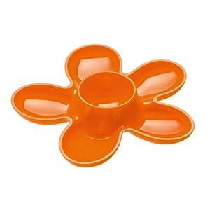 Koziol April Egg Cup, Set of 2, Solid Orange