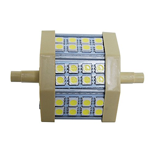 Thg 4 Pieces 5W 100-240V R7S Led 24 Smd 5050 Lamp Energy Saving Corn Light Day White