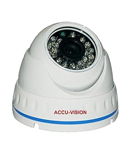 Accu Vision AV-HQIS11IR 1100TVL IR Dome CCTV Camera