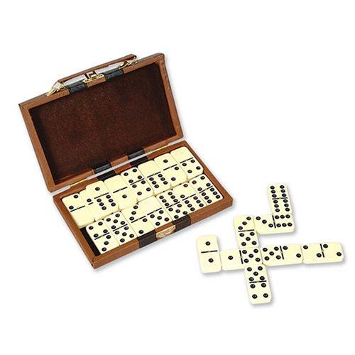 Plastic Double 6 Dominoes, 28-Piece