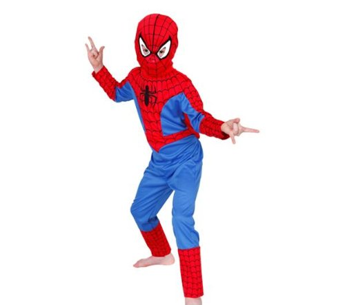 Spiderman 'Classic' Costume - Child's Fancy Dress - Large