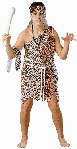 Men's Caveman Halloween Costume (Size: Standard)